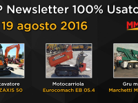 TOP Newsletter 100% Usato - 17- 19 agosto 2016