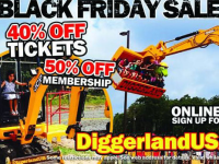 USA: Black Friday al Diggerland con Super Sconti