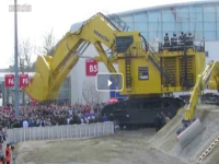 Video bauma 2016: il Komatsu PC 7000 in azione