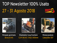 TOP Newsletter 100% Usato - 27 - 31 Agosto 2018