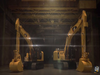 Video: Cat® 323F e 336F XE Hybrid sotto una nuova luce