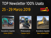 TOP Newsletter 100% Usato - 25 - 27 Marzo 2019