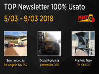 TOP Newsletter 100% Usato - 05 - 09 Marzo 2018