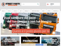 Street Parts: sconti sui ricambi camion
