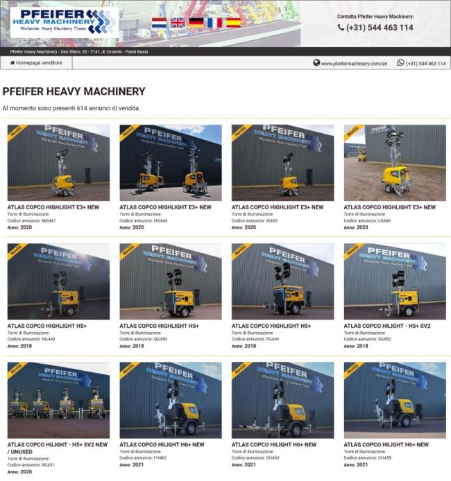 Pfeifer Heavy Machinery è il nuovo inserzionista MMT