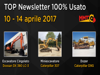 TOP Newsletter 100% Usato - 10 - 14 aprile 2017