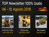 TOP Newsletter 100% Usato - 06 - 10 Agosto 2018