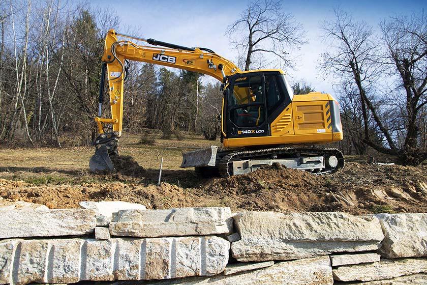 escavatore JCB 140X 02dbf408-28f5-46d7-b771-2d64c8c135d6