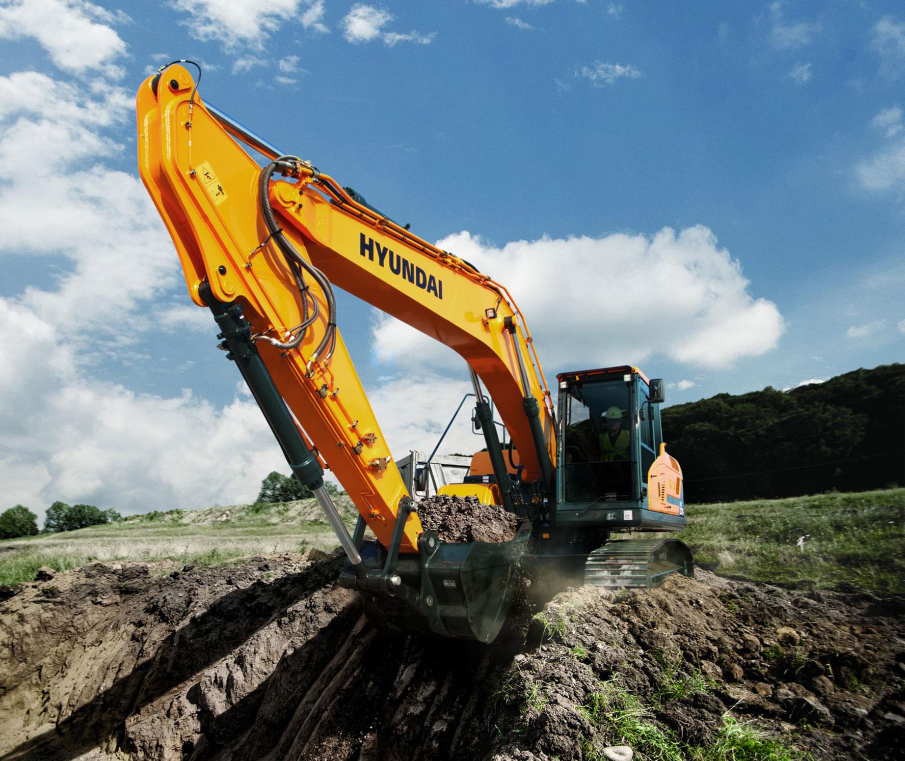 escavatore Hyundai serie HX 04285199-eb56-43a9-b264-6fe5219b7c84