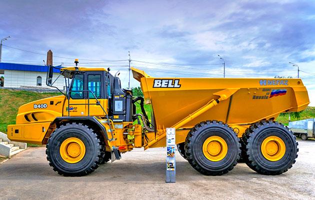 """dumper bell/Bell: Il primo dumper ADT """"Made in Russia 0829b090-6aa6-45a0-a01b-7a73e406183a"""