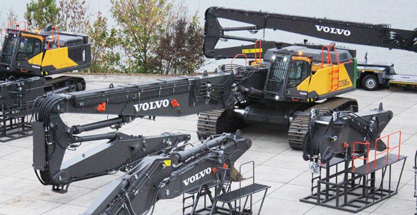 escavatore volvo per demolizione Volvo, l'EC750E HR 0adedeba-37ae-4c44-a700-7a8823a31120