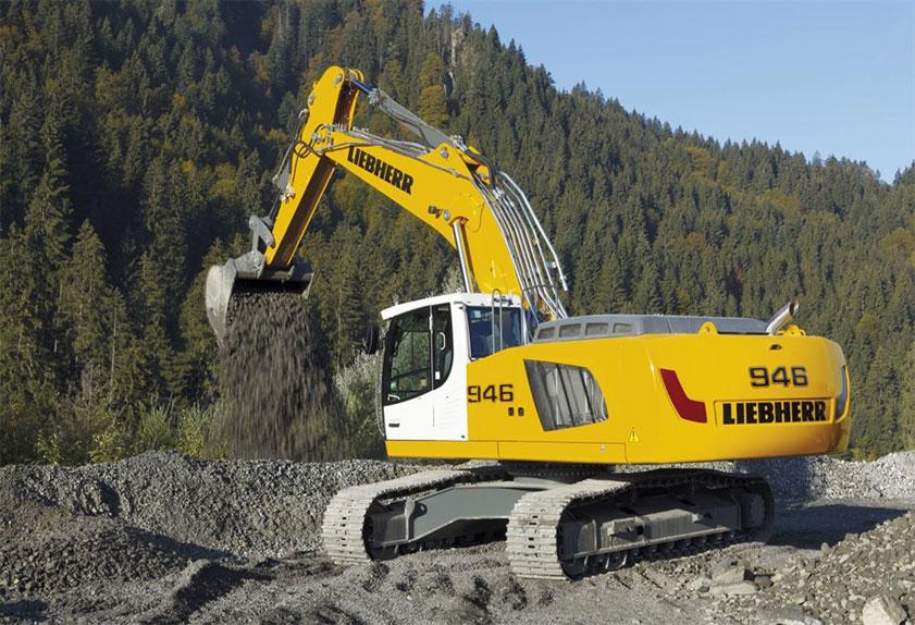 liebherr escavatore  Liebherr: produce il suo primo escavatore Stage IV/Tier 4F