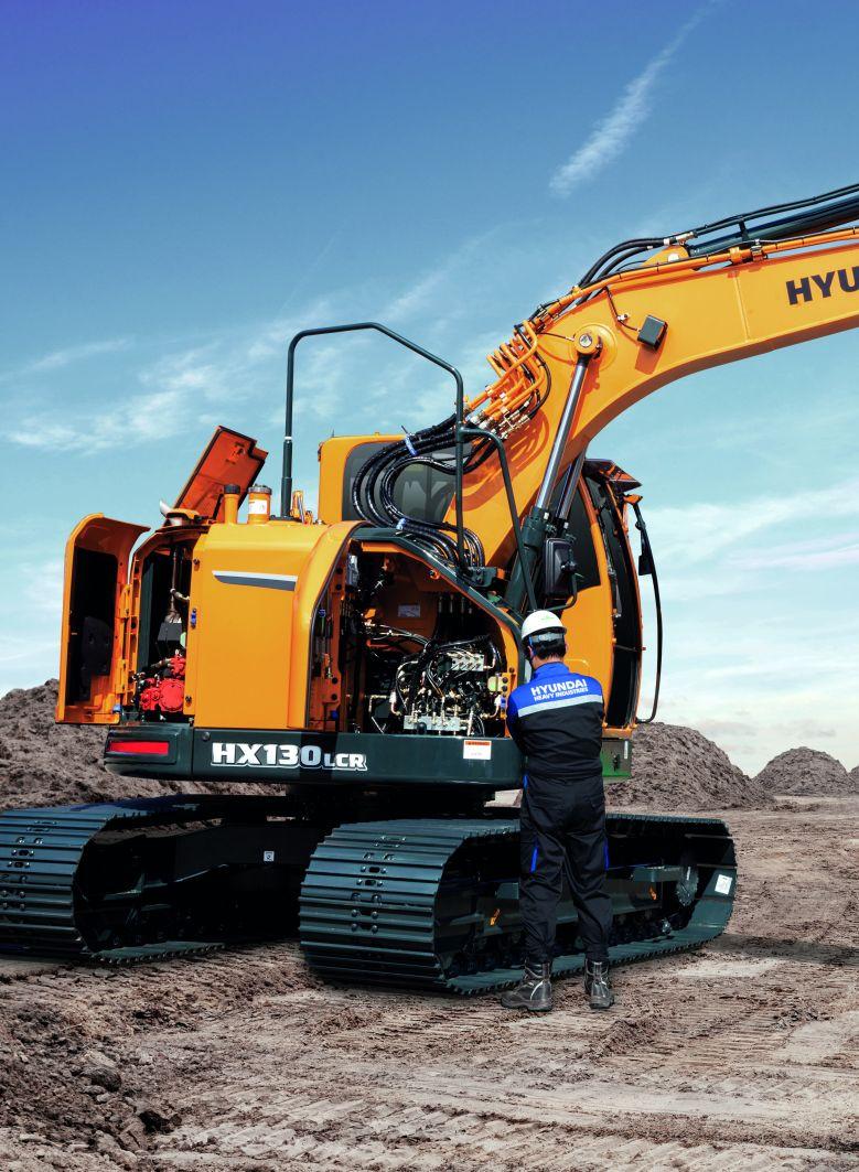 escavatore Hyundai serie HX 3306cfb1-9389-4507-a39a-d26da2ef78f0