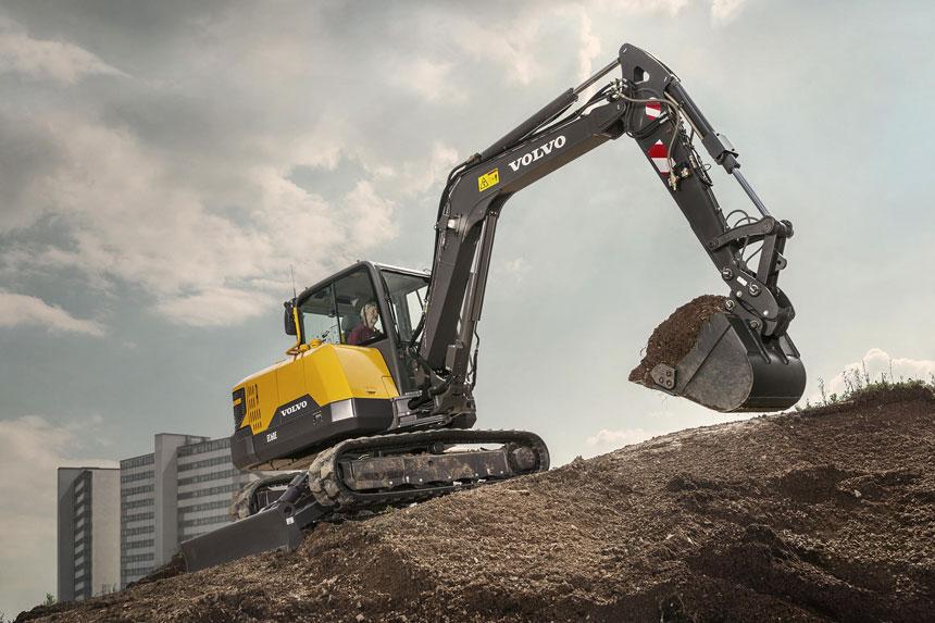 escavatore cingolato EC60E di Volvo 376cb26e-0cef-426d-92f0-c6233cd94a8a