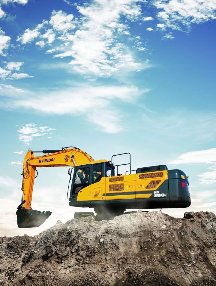escavatore Hyundai serie HX 44a5ce92-0b20-4bb1-994a-82004fd65466