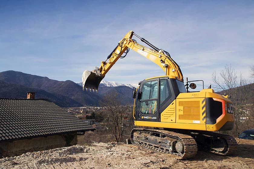 escavatore JCB 140X 6b98589d-1239-4e98-9985-07d11e92536e