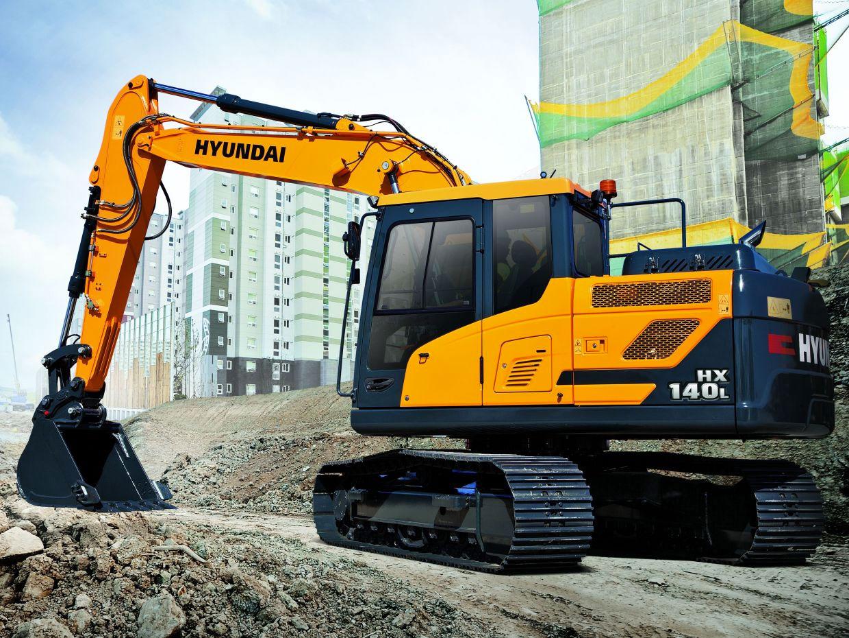 escavatore Hyundai serie HX 76dca4a6-7658-48c6-afdc-26a9fea6be31