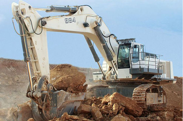 liebherr escavatore  Liebherr dice addio all'escavatore R 984