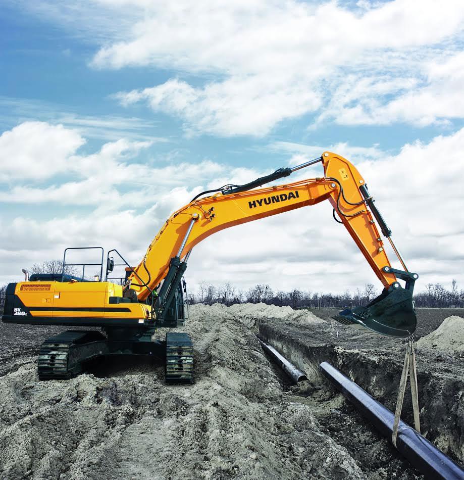 escavatore Hyundai serie HX F88f293f-b477-4188-9855-e9ca7468bbde
