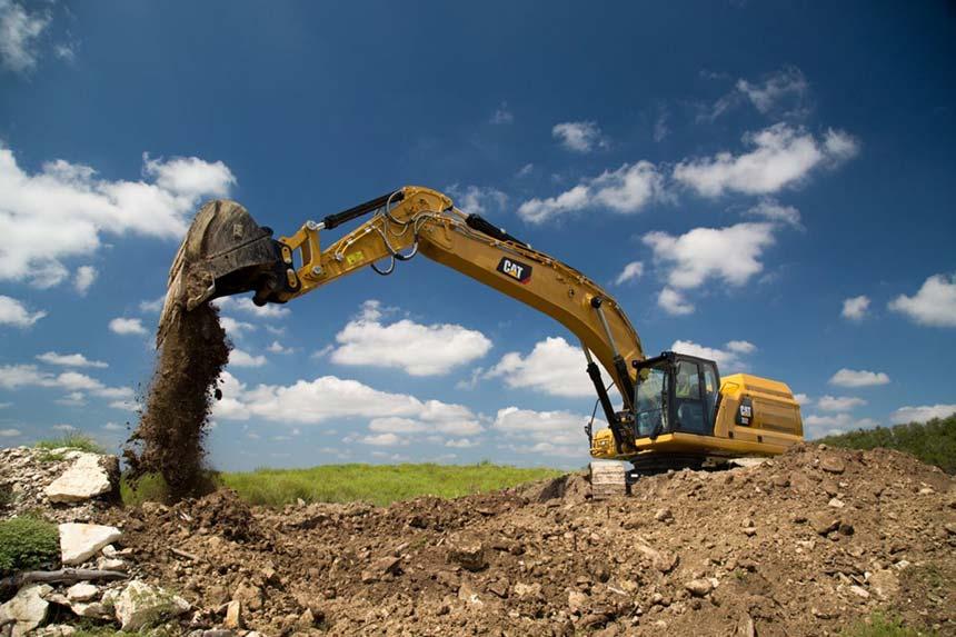 Escavatore CAT 352